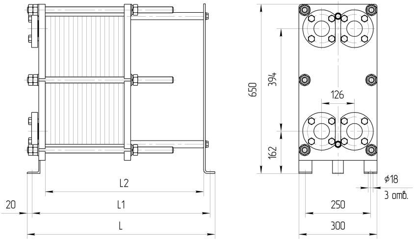 Ридан 3d модель теплообменника Кожухотрубный конденсатор Alfa Laval McDEW 1360 T Саров
