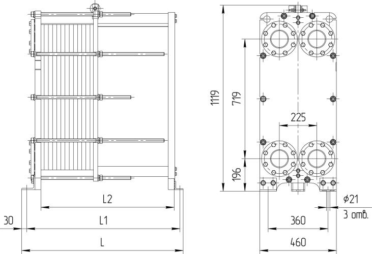 Теплообменник нн 21 схема расчет мощности теплообменника для 4-х этажного здания с центральным отоплением