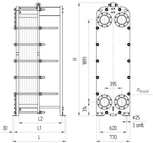 Теплообменники ридан нн 14а технические характеристики VLA 34/52/85/102-6