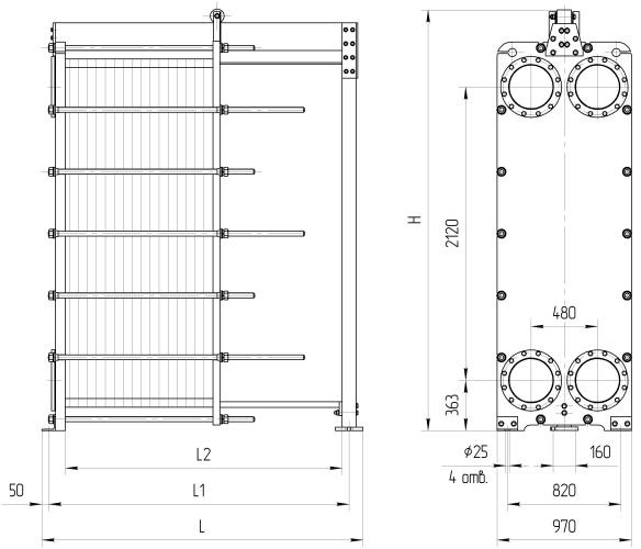 Теплообменник нн п теплообменник схема подключения вторичного контура