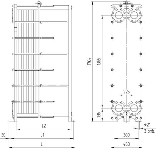 Теплообменник ридан нн 47 технические характеристики Подогреватель высокого давления ПВД-1300-37-2,0 Железногорск